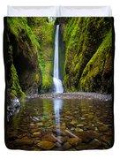 Oneonta Falls Duvet Cover