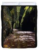 Onieata Gorge Duvet Cover