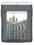 Onion Domes - Katharinen Palace - Russia Duvet Cover