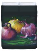 Onions Duvet Cover
