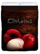 Onions II Duvet Cover