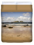 Only Clouds From Skies Duvet Cover