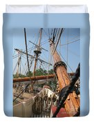 Only Masts Duvet Cover