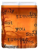 Only You Can 2 Duvet Cover