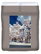 Ontario Summer Color Infrared Duvet Cover