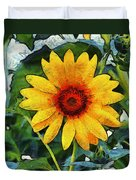 Onyx Store Sunflower Duvet Cover