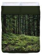 Opal Creek Wilderness Duvet Cover