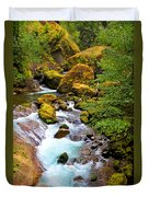 Opal Rivers Duvet Cover