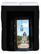 Open Church Door - Macon Duvet Cover