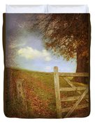 Open Country Gate Duvet Cover