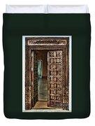 Open Door By Diana Sainz Duvet Cover