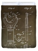 Open End Ratchet Wrench Patent Duvet Cover