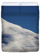 Open Ski Trail St Moritz Duvet Cover