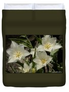 Open Tulip Time Duvet Cover
