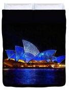 Opera House Sydney Australia Duvet Cover