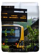 Oporto Train Station Duvet Cover