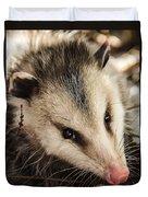Opossum Duvet Cover
