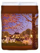 Opryland Hotel Christmas Duvet Cover