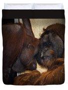 Orangatang Love Duvet Cover