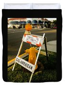 Orange And Ninth Coronado California Duvet Cover