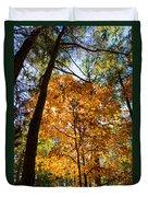 Orange Autumn II Duvet Cover