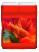Orange Blossom Opening Duvet Cover