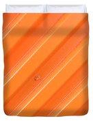 Orange Bolt Duvet Cover