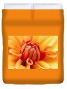 Orange Centre Duvet Cover