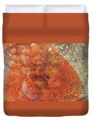 Orange Crush Duvet Cover