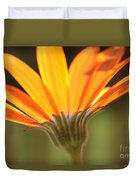 Orange Daisy Duvet Cover