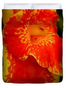 Orange Delight Duvet Cover by Debra Forand