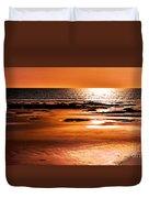 Orange Evening Duvet Cover