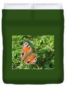 Orange Flutter Duvet Cover