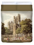 Orange Grove, From Bath Illustrated Duvet Cover