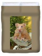 Orange Hamster Ha106 Duvet Cover