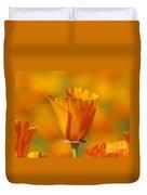 Orange Harmony Duvet Cover