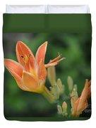 Orange Lily Photo 2 Duvet Cover