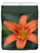 Orange Lily Photo 6 Duvet Cover