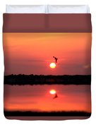 Orange Mood Duvet Cover