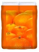 Orange Oranges Duvet Cover