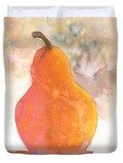 Orange Pear Duvet Cover