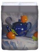 Orange Pekoe Tea Duvet Cover