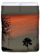 Orange Skies Duvet Cover
