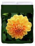 Orange Sun Duvet Cover