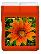 Orange Sunshine Duvet Cover