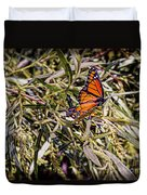 Orange Swallowtail Duvet Cover