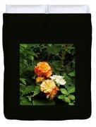 Orange Trim Duvet Cover