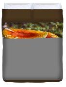 Orange V4 Duvet Cover
