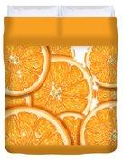 Orange Duvet Cover