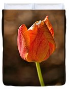 Orange/yellow Tulip Duvet Cover
